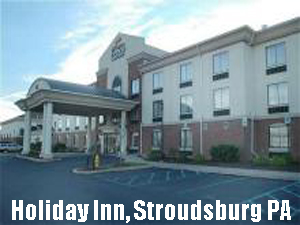 Holiday Inn, Stroudsburg PA