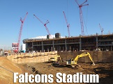 Falcons Stadium Shoring