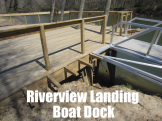 Riverview Landing Boat Dock